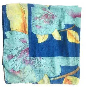 Zara Lotus Floral Scarf